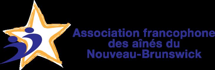 Logo - Association francophone des aînés du Nouveau-Brunswick