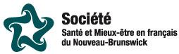 Logo - Société Santé et Mieux-être en français du Nouveau-Brunswick